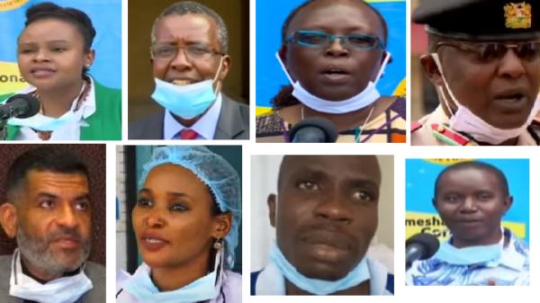 Coronavirus hoax; facemasks worn wrongly